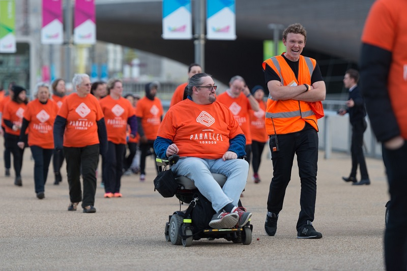Parallel-London-disabled-participants